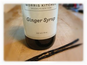 Vanilla Bean and Ginger Syrup