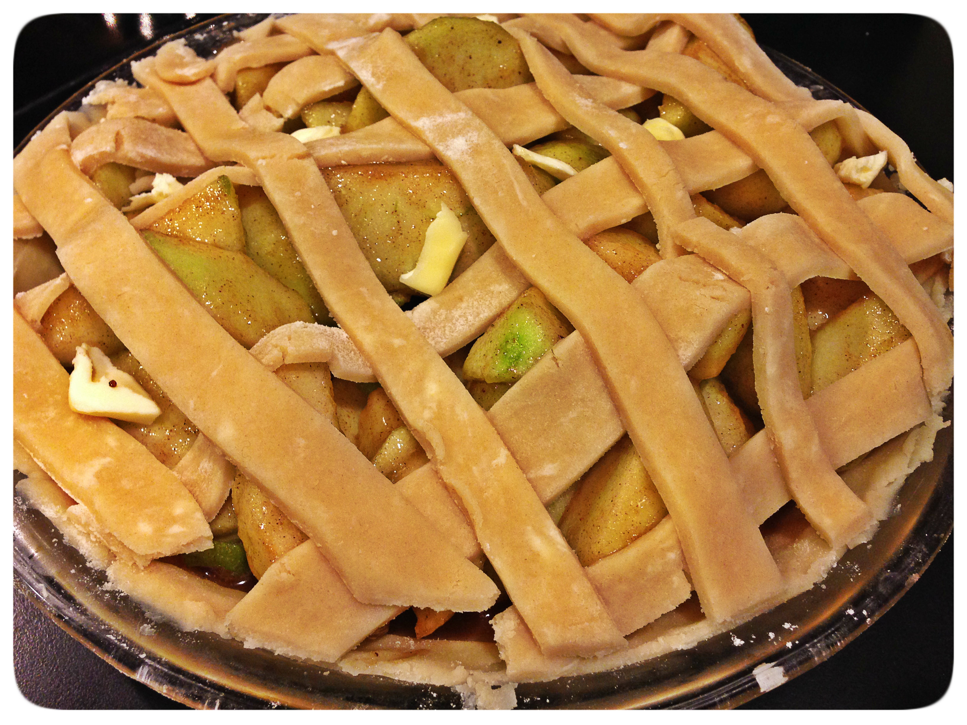 how to make pie crust for apple pie