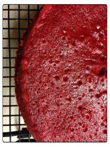 red velvet layer